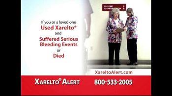 Xarelto Alert Helpline TV Spot, 'Serious Bleeding'