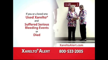 Xarelto Alert Helpline TV Spot, 'Serious Bleeding'