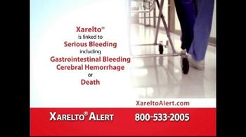 Xarelto Alert Helpline TV Spot, 'Serious Bleeding' - Thumbnail 2