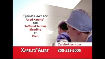 Xarelto Alert Helpline TV Spot, 'Serious Bleeding' - Thumbnail 3