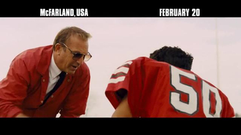 McFarland, USA - 2486 commercial airings