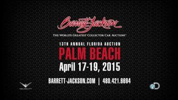 Barrett-Jackson 13th Annual Florida Auction TV Spot, 'Palm Beach' - Thumbnail 10