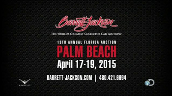 Barrett-Jackson 13th Annual Florida Auction TV Spot, 'Palm Beach' - Thumbnail 8