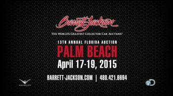 Barrett-Jackson 13th Annual Florida Auction TV Spot, 'Palm Beach' - Thumbnail 9