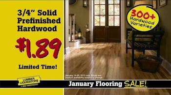 Lumber Liquidators January Flooring Sale TV Spot, 'Best Deals' - Thumbnail 5