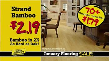 Lumber Liquidators January Flooring Sale TV Spot, 'Best Deals' - Thumbnail 6