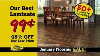 Lumber Liquidators January Flooring Sale TV Spot, 'Best Deals' - Thumbnail 8