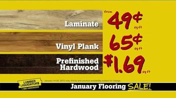 Lumber Liquidators January Flooring Sale TV Spot, 'Best Deals' - Thumbnail 9