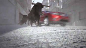 2015 Nissan Rogue TV Spot, 'Bull Chase' - Thumbnail 2