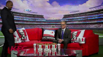 KFC TV Spot, 'Couchgating' Featuring Donovan McNabb, Mike Pereira - Thumbnail 1