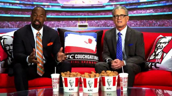KFC TV Spot, 'Couchgating' Featuring Donovan McNabb, Mike Pereira - Thumbnail 10