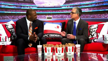 KFC TV Spot, 'Couchgating' Featuring Donovan McNabb, Mike Pereira - 3 commercial airings