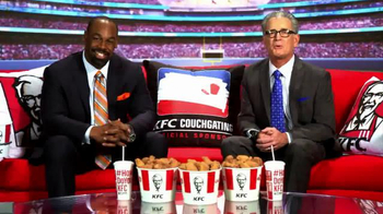 KFC TV Spot, 'Couchgating' Featuring Donovan McNabb, Mike Pereira - Thumbnail 9