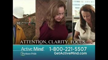 Puritan's Pride Active Mind TV Spot, 'A Breakthrough' - 93 commercial airings