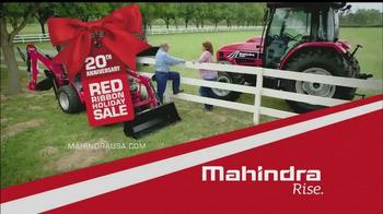 Mahindra Red Ribbon Holiday Sale TV Spot, 'Top Selling Tractor' - Thumbnail 10
