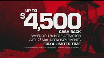 Mahindra Red Ribbon Holiday Sale TV Spot, 'Top Selling Tractor' - Thumbnail 5