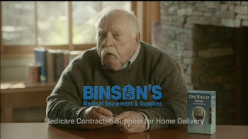 Binson's Medical Equipment TV Spot, 'All Your Needs' Feat. Wilford Brimley - 16 commercial airings