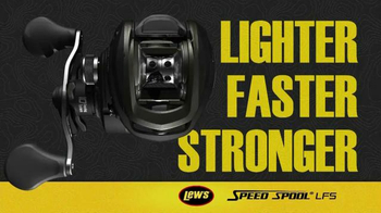 Lew's Speed Spool LFS TV Spot, 'Lighter, Faster, Stronger' - Thumbnail 1