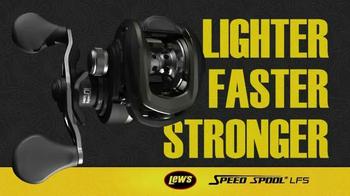 Lew's Speed Spool LFS TV Spot, 'Lighter, Faster, Stronger' - Thumbnail 2