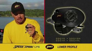 Lew's Speed Spool LFS TV Spot, 'Lighter, Faster, Stronger' - Thumbnail 4