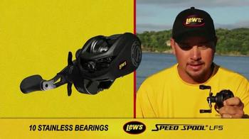 Lew's Speed Spool LFS TV Spot, 'Lighter, Faster, Stronger' - Thumbnail 8