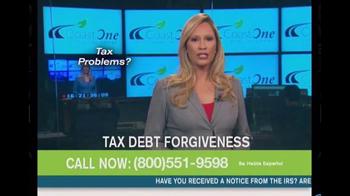 Coast One Financial Group TV Spot, 'Tax Debt Forgiveness' - Thumbnail 2