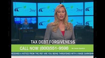 Coast One Financial Group TV Spot, 'Tax Debt Forgiveness' - Thumbnail 3