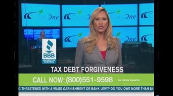 Coast One Financial Group TV Spot, 'Tax Debt Forgiveness' - Thumbnail 4
