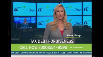 Coast One Financial Group TV Spot, \'Tax Debt Forgiveness\'