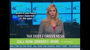 Coast One Financial Group TV Spot, 'Tax Debt Forgiveness' - Thumbnail 8