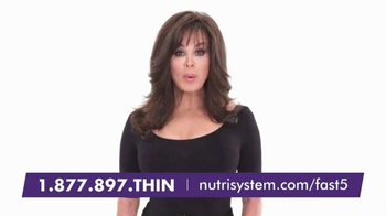 Nutrisystem Fast 5+ TV Spot, 'Nothing Like It' Featuring Marie Osmond - Thumbnail 1