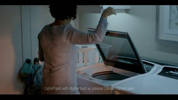 Whirlpool Cabrio Laundry Pairs TV Spot, 'Quiet Moments' - Thumbnail 8