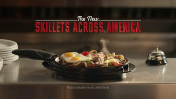 Denny's Philly Cheese Steak and Egg Skillet TV Spot, 'Roaring Skillets' - Thumbnail 9