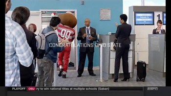 Walt Disney World TV Spot, 'National Champions' Featuring Brutus Buckeye - Thumbnail 8