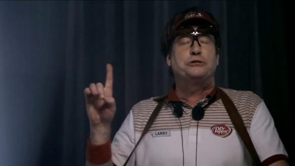 Dr Pepper TV Commercial, 'Larry and the National Champion Trophy'