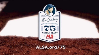ALS Association TV Spot, 'Pride of the Yankees' - Thumbnail 10