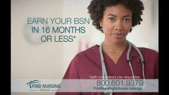 Find Nursing Schools TV Spot, 'Always There'