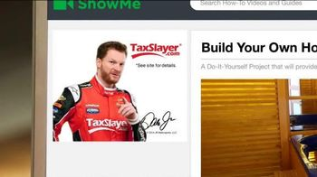TaxSlayer.com TV Spot, 'Home Fix It Project' Featuring Dale Earnhardt, Jr.