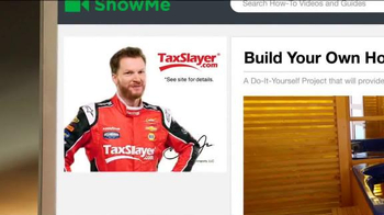 TaxSlayer.com TV Spot, 'Home Fix It Project' Featuring Dale Earnhardt, Jr. - Thumbnail 7