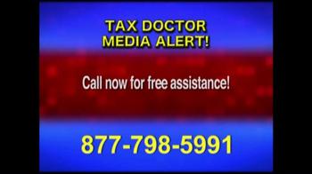 Call the Tax Doctor TV Spot, 'Media Alert' - Thumbnail 7