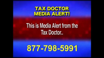 Call the Tax Doctor TV Spot, 'Media Alert'