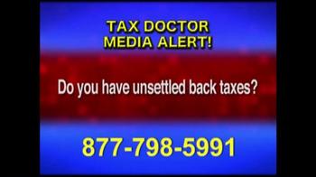 Call the Tax Doctor TV Spot, 'Media Alert' - Thumbnail 3