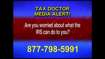 Call the Tax Doctor TV Spot, 'Media Alert' - Thumbnail 4