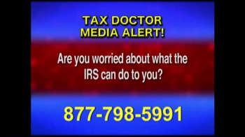 Call the Tax Doctor TV Spot, 'Media Alert' - Thumbnail 5
