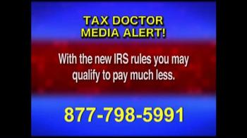 Call the Tax Doctor TV Spot, 'Media Alert' - Thumbnail 6