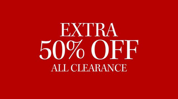 JoS. A. Bank TV Spot, 'Extra 50% Off All Clearance' - Thumbnail 9