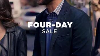 Men's Wearhouse Four-Day Sale TV Spot, 'Serious Savings' - Thumbnail 4