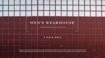 Men's Wearhouse Four-Day Sale TV Spot, 'Serious Savings' - Thumbnail 9