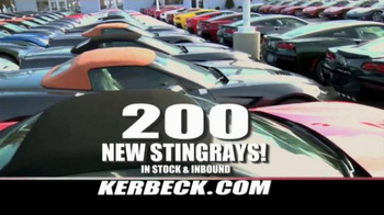 Kerbeck Corvette TV Spot, '200 New Stingrays' - Thumbnail 3