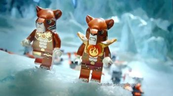 LEGO Legends of Chima Tiger's Mobile Command, Claw Driller TV Spot